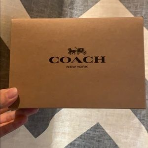 Coach Accessories - Coach Brand New Men's Two Sides Use Leather Belt